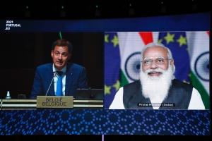Alexander De Croo welcomes new trade talks at EU-India Summit