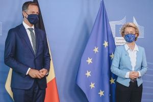 Onderhoud met Commissievoorzitter Ursula Von der Leyen