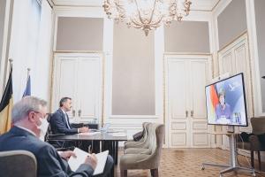 Bilaterales Gespräch mit Bundeskanzlerin Angela Merkel