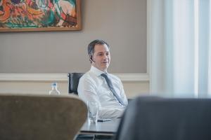 Entretien  téléphonique avec le Premier ministre Mark Rutte