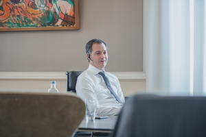 Telefonisch overleg met minister-president Mark Rutte