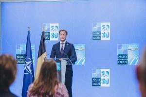 Conférence de presse à l'issue du Sommet de l'OTAN