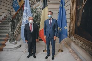 Meeting with UN Secretary-General Antonio Guterres