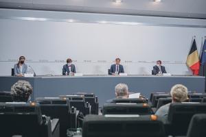 Introduction à l'issue de la conférence de presse dédiée aux intempéries extrêmes