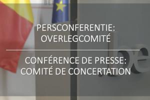 Conférence de presse: le Comité de concertation renforce les règles de lutte contre le corona pour le sport, la culture et l'enseignement supérieur