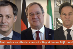 Restez chez soi - Blijf thuis - Bleib zu Hause - Stay at Home