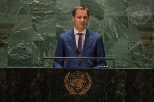 Toespraak voor de 76e Algemene Vergadering van de Verenigde Naties