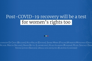 Post-COVID-19 recovery will be a test for women's rights too