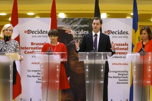 Le Premier ministre Alexander De Croo se félicite de l'abrogation de la « Global Gag rule » par le président Biden