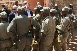 La Belgique continuera à participer à l'action internationale au Sahel