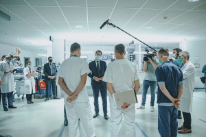 Visit Antwerp University Hospital and Hospital Saint-Luc